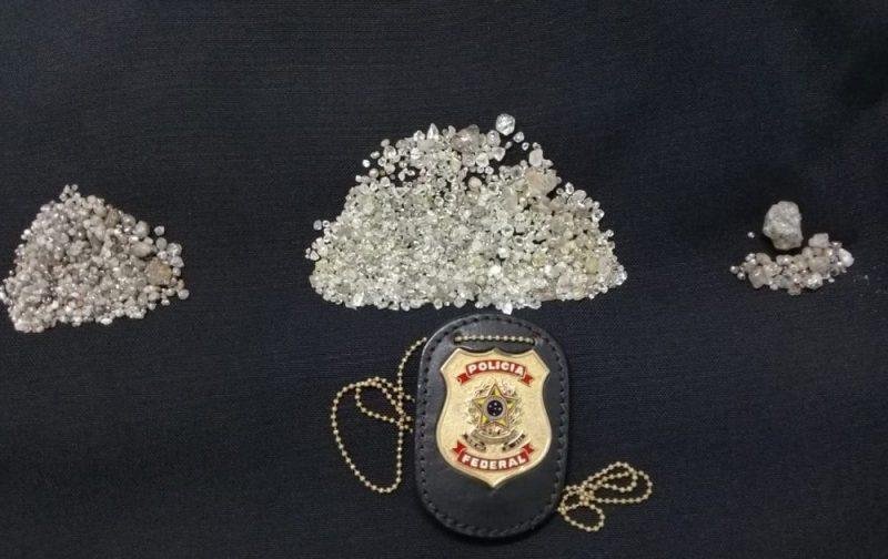 Operação da PF mira exploração ilegal de diamantes em terras indígenas de Rondônia