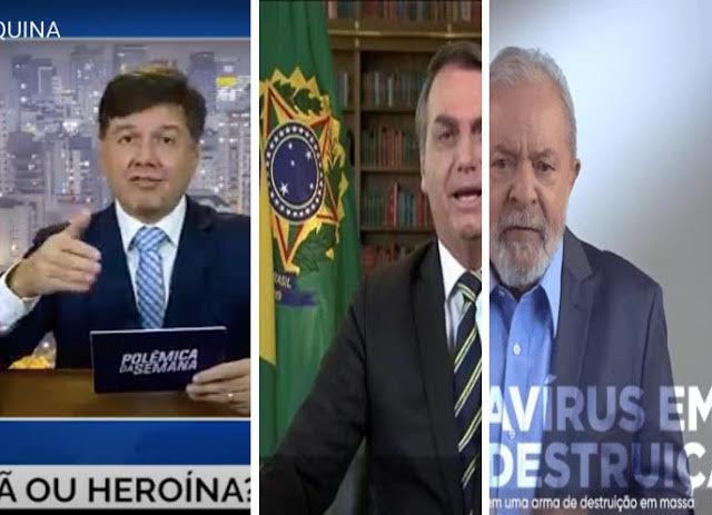A canastrice na política: os vídeos do Porta dos Fundos, Bolsonaro e Lula