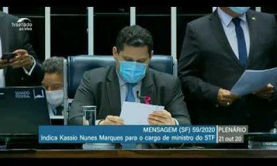Vídeo: Senado aprova Kassio Marques para o cargo de ministro do STF