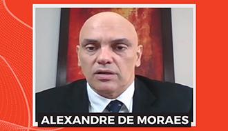 Ministro Alexandre de Moraes fala em entrevista sobre temas em discussão na sociedade