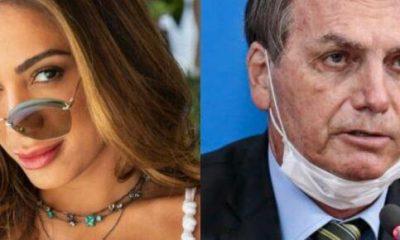 Anitta sobre postura de Jair Bolsonaro ao ameaçar jornalista: 'ignorância mental'