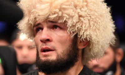 Khabib vence no UFC 254 e anuncia aposentadoria após perder pai para Covid