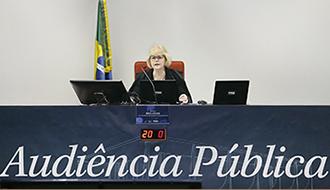 Ministra destaca importância do debate sobre meio ambiente na audiência pública sobre Fundo Amazônia