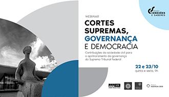 STF conclui conferência digital sobre Cortes Supremas, Governança e Democracia