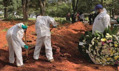 Brasil ultrapassa as 157 mil mortes por coronavírus