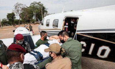 Agente da PCDF que pilotava helicóptero caído no Pantanal recebe alta
