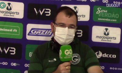 Enderson Moreira vê evolução na forma de jogar do Goiás
