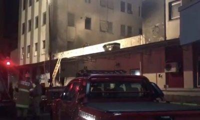 Saúde confirma 3ª morte após incêndio no Hospital de Bonsucesso, diz portal