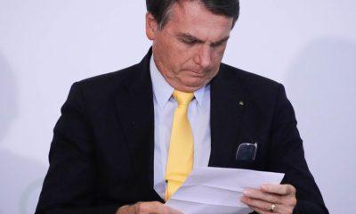 Bolsonaro propõe projeto de lei para revogar atos normativos de 1850 a 2018