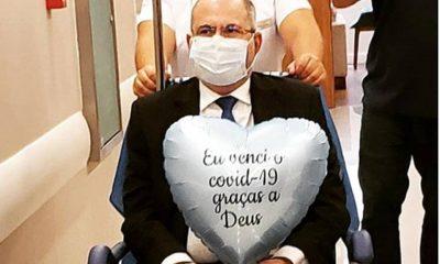 Covid-19: internado há 18 dias, deputado Hildo Rocha tem alta no DF