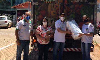 Mesa Brasil doa 6 mil mascaras de proteção facial a instituições de saúde de Goiânia