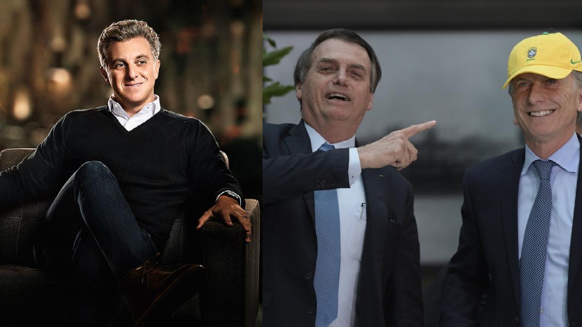De olho em 2022, Luciano Huck pede conselhos a ex-presidente argentino, Maurício Macri