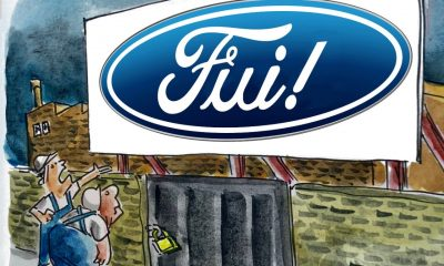 Charge do Zé Dassilva: a Ford sai do Brasil