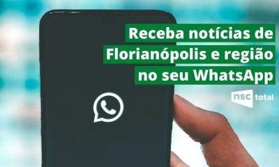 Receba notícias de Florianópolis e região pelo WhatsApp