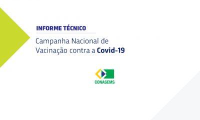 Informe Técnico da Campanha Nacional de Vacinação contra a Covid-19