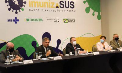 Lançamento do projeto ImunizaSUS: Educação permanente, pesquisa e mobilização social