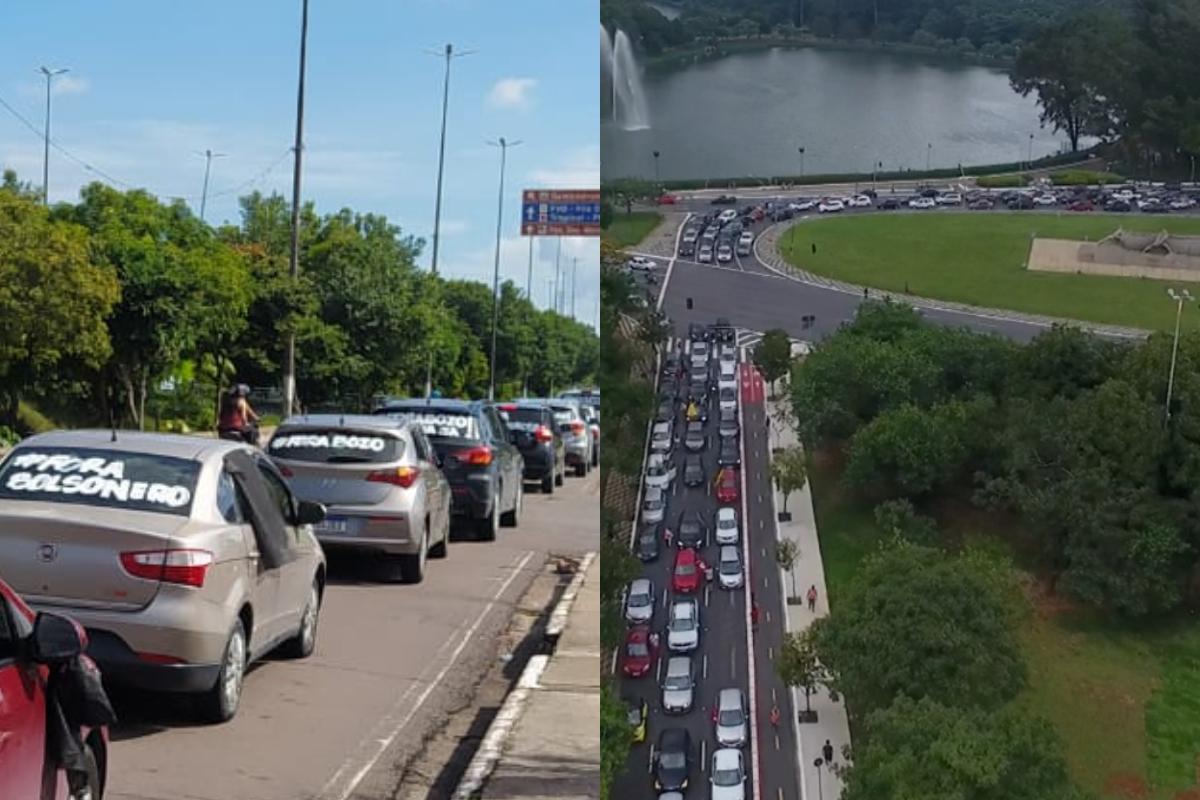 Carreatas contra Bolsonaro aconteceram em todas as capitais do Brasil; confira