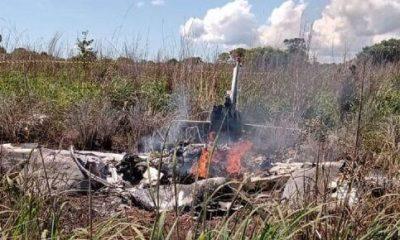 Avião cai e mata quatro jogadores e presidente do Palmas