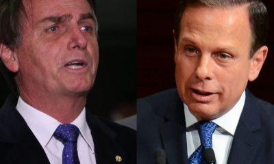 Datafolha: 46% dizem que Doria faz mais que Bolsonaro contra covid