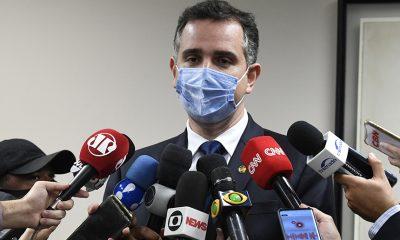 Rodrigo Pacheco defende prioridade para saúde e crescimento econômico