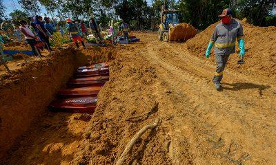 Covid-19: Em retrocesso, Brasil tem média de mortos semelhante ao do pico da pandemia, em julho de 2020