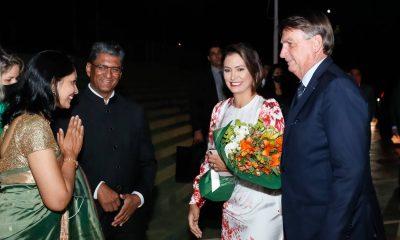 """Após afago à China, Bolsonaro discursa em festa na embaixada da Índia: """"País amigo do Brasil"""""""