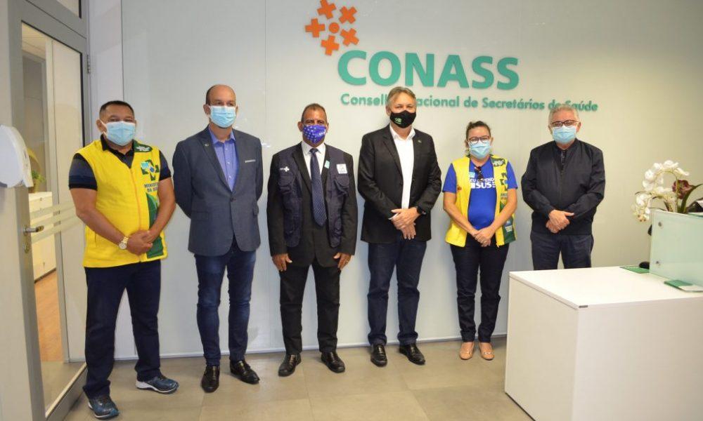 Conass e Conasems se reúnem com lideranças dos Agentes Comunitários de Saúde e de Endemias