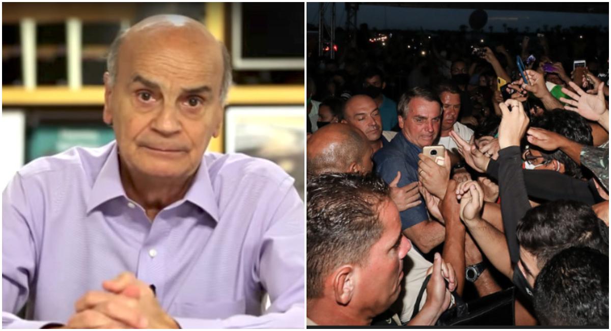 """""""Não é mau comportamento. É crime"""", diz Drauzio Varella sobre aglomeração de Bolsonaro no Ceará"""