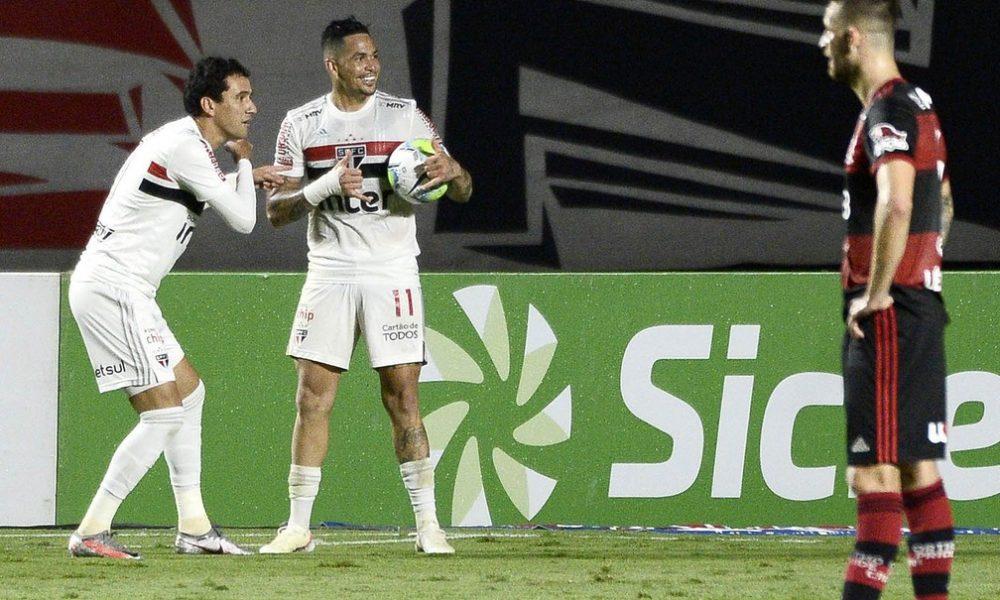 São Paulo não perde para o Flamengo há oito jogos e tem placar de 9 x 2 na temporada
