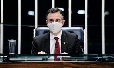 Pacheco ressalta empenho do Senado no enfrentamento da pandemia