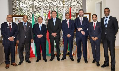 Gulf ambassadors, Bolsonaro discussed cooperation -Árabe -Arab News Agency (ANBA)