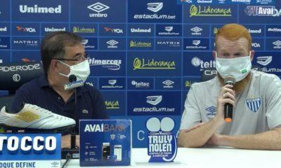 """Foguinho se despede do Avaí após três jogos: """"O futebol é muito dinâmico"""""""