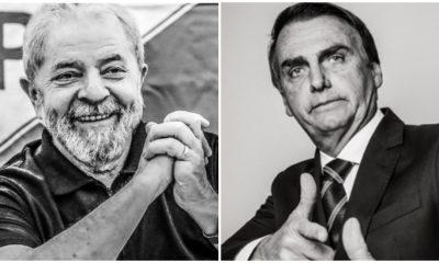 Lula tem o dobro de citações positivas do que Bolsonaro nas redes
