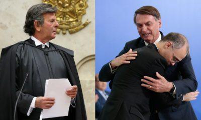 André Mendonça se reúne com Luiz Fux no intervalo do julgamento sobre caso Lula