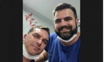 Flávio Bolsonaro sofre acidente no Ceará e vai parar no hospital | NSC Total