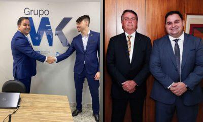 Empresário que deu carro ao lobista Jair Renan foi recebido por Jair Bolsoanaro
