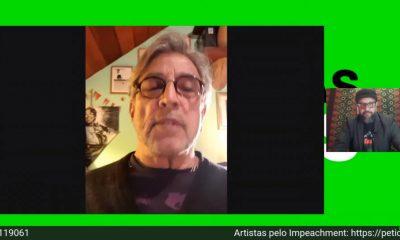 """Em live dos artistas pelo impeachment Ivan Lins detona Bolsonaro: """"Terrorista"""""""