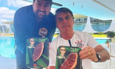 Enquanto fome avança, Bolsonaro faz churrasco com picanha que custa R$1.799 o quilo, mais que um salário mínimo
