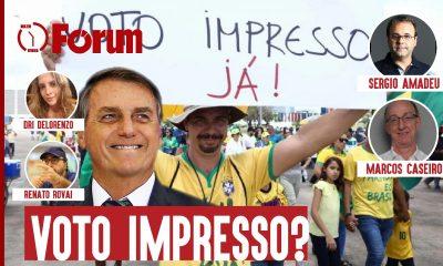 O debate sobre o voto impresso e auditável e a segurança das eleições no país de Bolsonaro