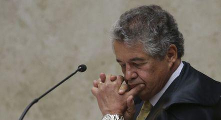 Marco Aurélio discorda da maioria e vota contra suspeição de Moro