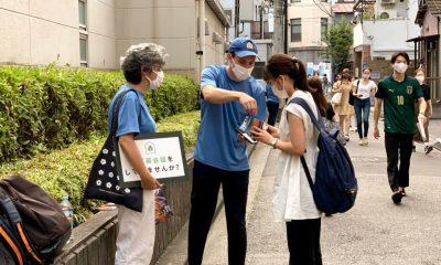 Missionários no Japão evangelizam no metrô e fazem caminhadas de oração nas Olimpíadas