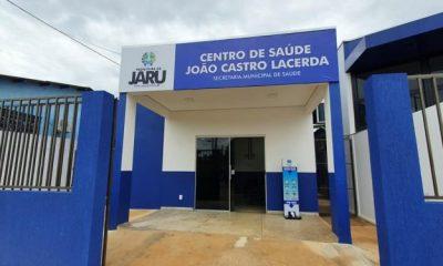 Jaru: Atendimentos da unidade sentinela da Covid-19 serão transferidos para o centro de Saúde João Castro de Lacerda