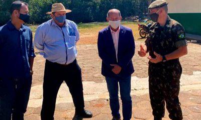 Deputado Federal Coronel Chrisóstomo se reúne com diretor do Instituto Federal de Rondônia para discutir demandas
