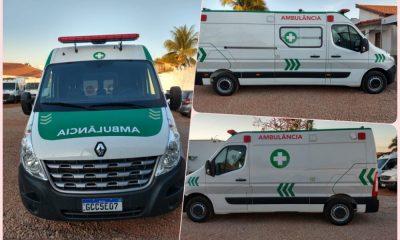 Secretária de Saúde anunciada chegada de duas novas ambulâncias para atender pacientes de Rolim de Moura