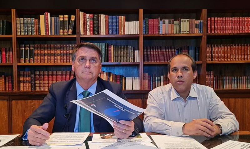 Pronunciamento do Presidente – 05/08/2021- PR Jair Bolsonaro