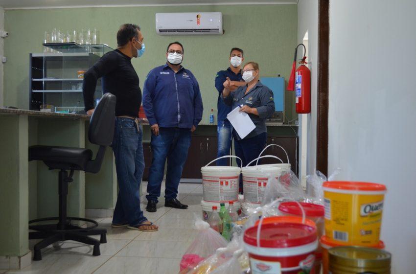 Ipem viabiliza doação de produtos a entidade que atua na área de assistência social em Porto Velho