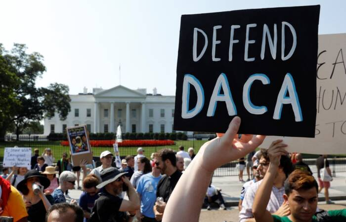 Departamento de Justiça apela contra decisão do juiz do Texas que bloqueou o DACA