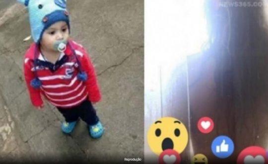 Bebê transmite banho da mãe ao vivo pelo Facebook