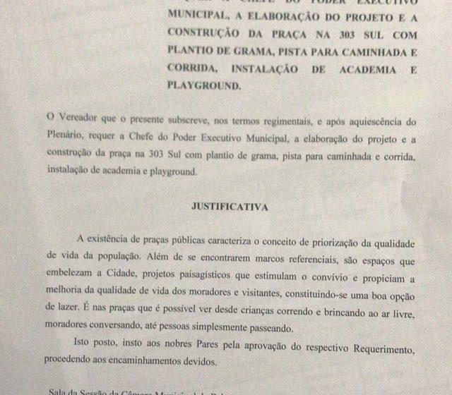 Praça da Arso 31 entregue pela Prefeitura: obra é fruto de requerimento de Moisemar
