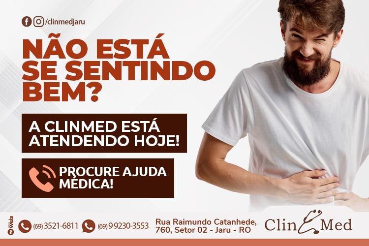Publicidade: Não está se sentindo bem?  A Clin Med conta com atendimento hoje